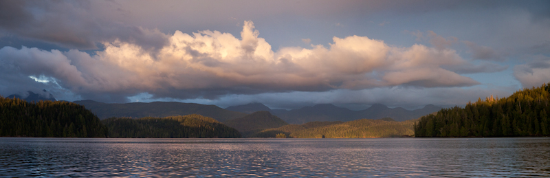 20130902-Tofino Inlet Pano,Sept 2nd,2013