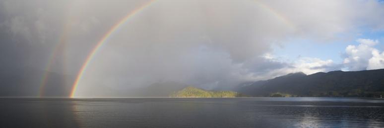 20141212-Tranquil Rainbow,Dec 12th,2014