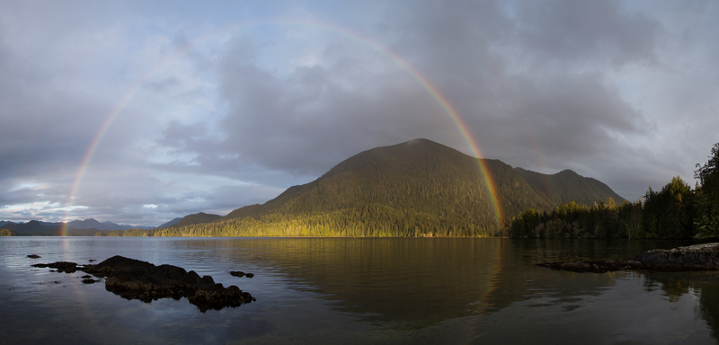 20141213-MEARES ISLAND RAINBOW,DEC 13TH,2014